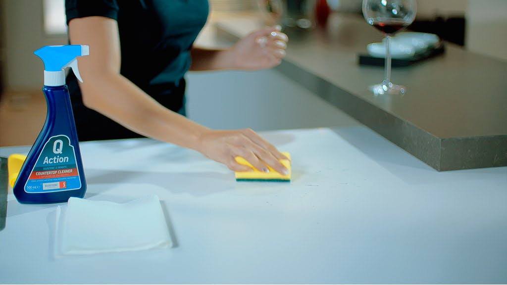 Silestone Maintenance Wine