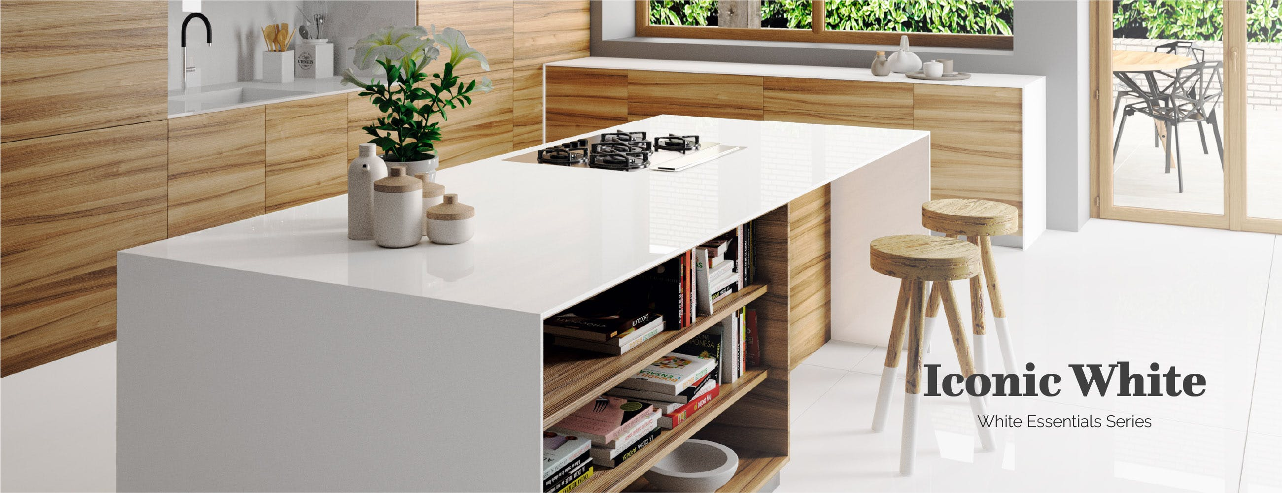 ... Silestone Suede Touch White Essentials: Trend For White Kitchen ...