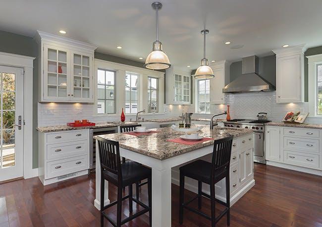 Large Kitchen Island Layout